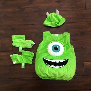 Disney Monsters Mike Wazowski costume! 12-18mos